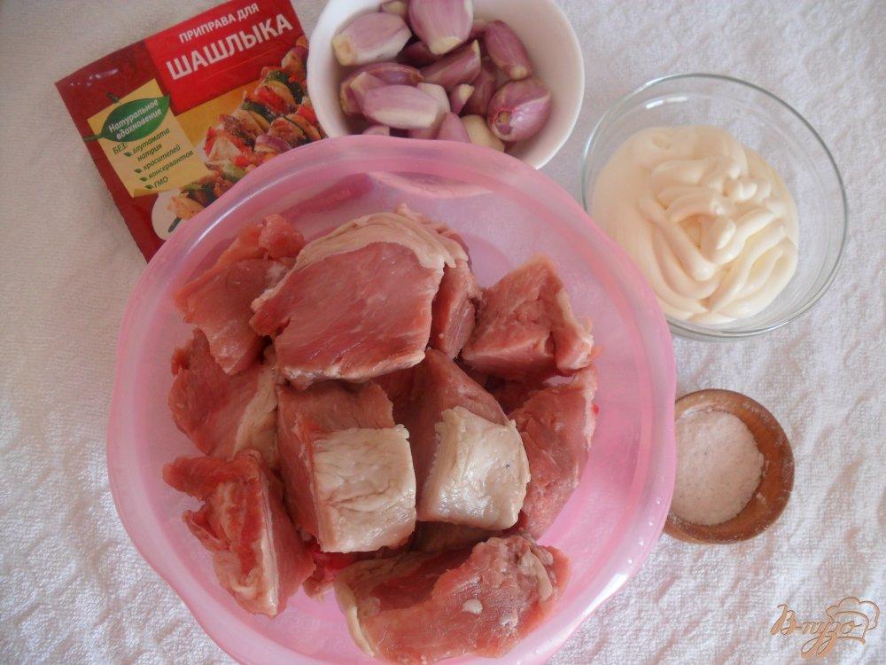 Фото приготовление рецепта: Шашлык на сковороде шаг №1