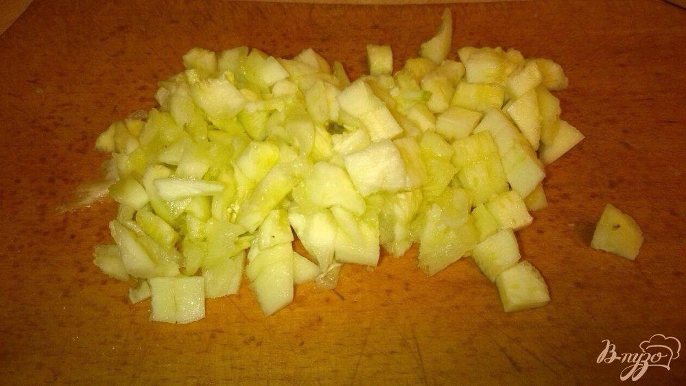Фото приготовление рецепта: Фаршированные кабачки шаг №3
