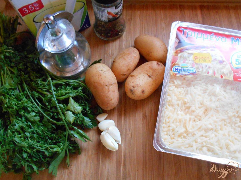 Фото приготовление рецепта: Картофельный гратен шаг №1