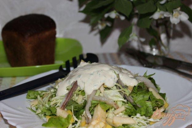 фото рецепта: Скандинавский селёдочный салат