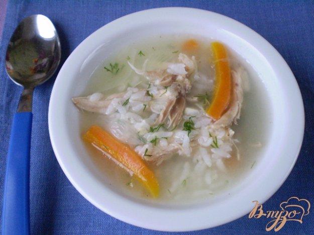 фото рецепта: Рисовый суп без картофеля