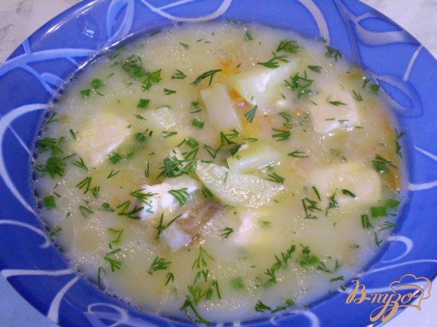 фото рецепта: Суп из минтая и сыра