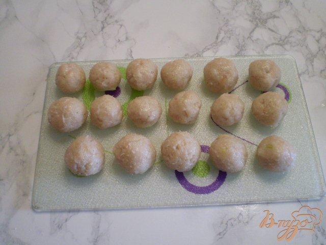 Фото приготовление рецепта: Суп с фрикадельками в мультиварке шаг №8