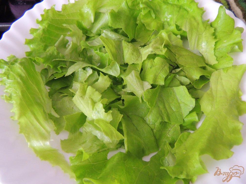 Весенний салат с гречкой и грибами