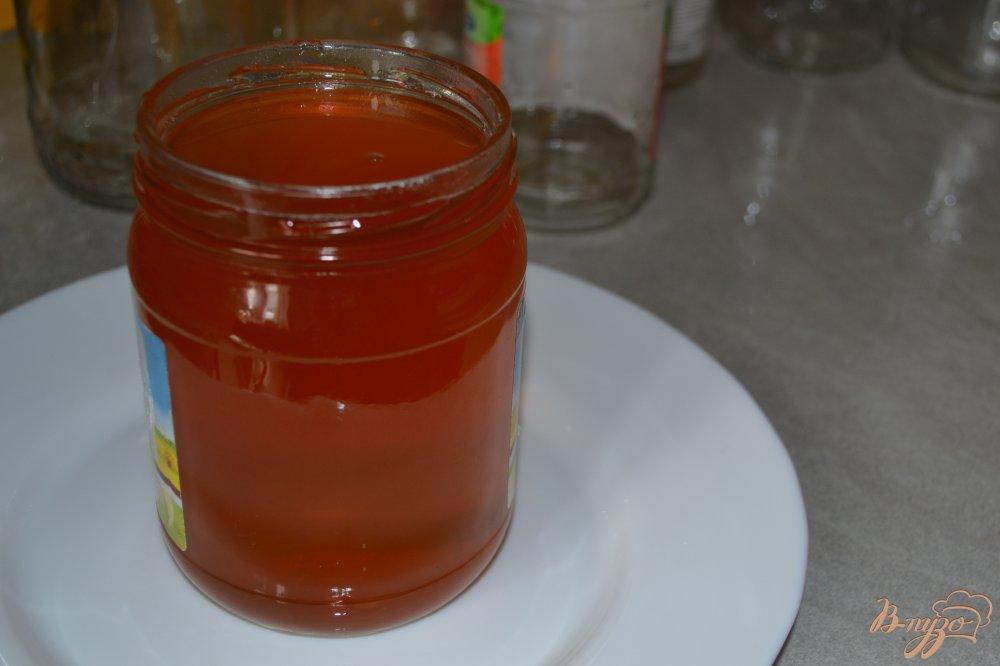 Фото приготовление рецепта: Мед из цветков акации шаг №5