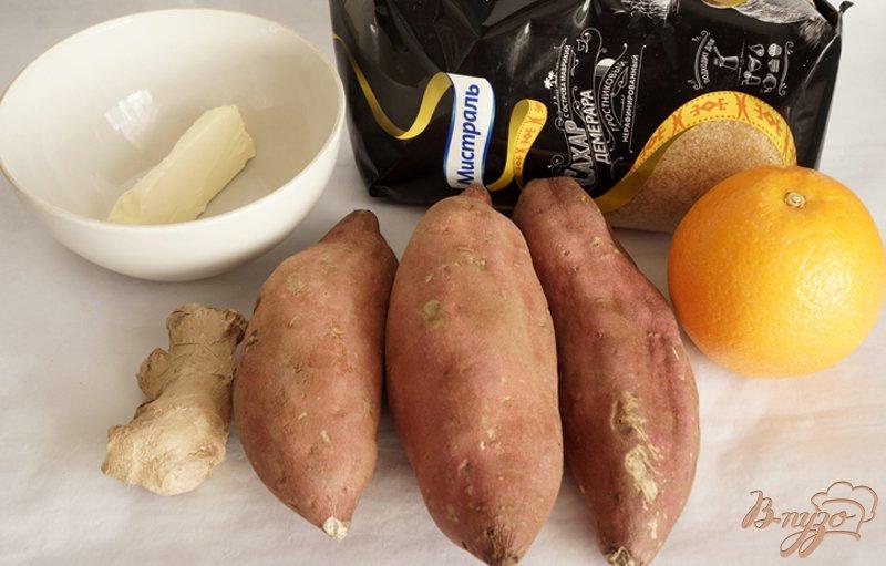 Рецепт Батат в имбирно-апельсиновом соусе