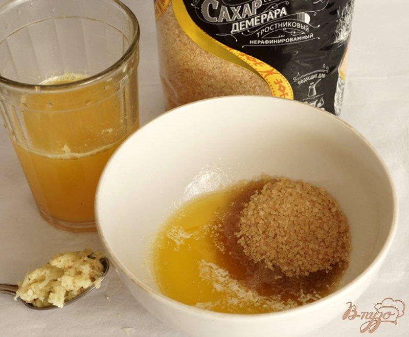 Батат в имбирно-апельсиновом соусе