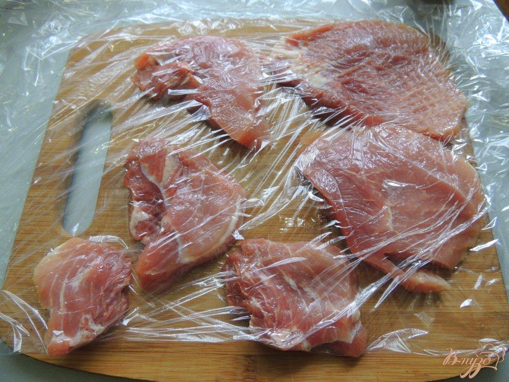 Фото приготовление рецепта: Свинина в карамели шаг №1