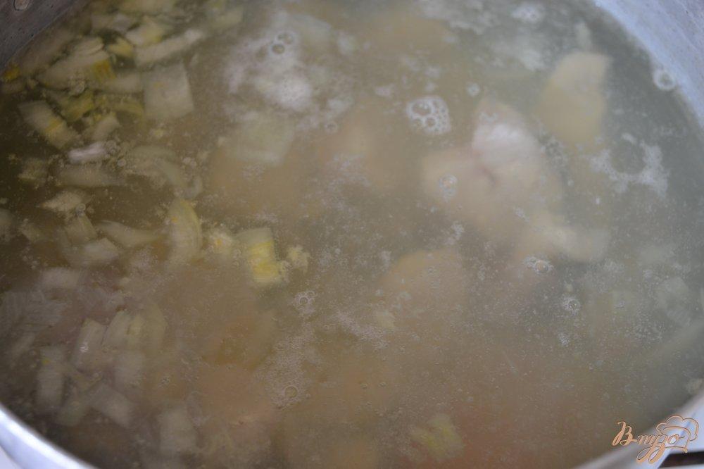 Фото приготовление рецепта: Суп из нототении шаг №7