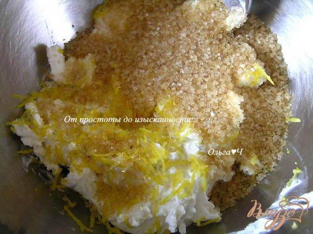 Рецепт Порционные лимонные чизкейки с малиной