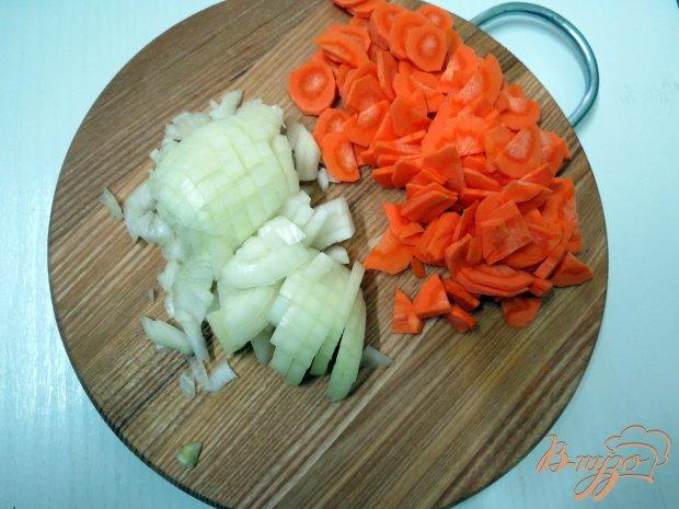 Суп пюре овощной  с шампиньонами