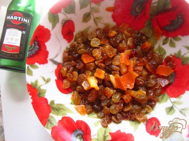 Пасхальный кулич с цедрой апельсина и ароматом мартини