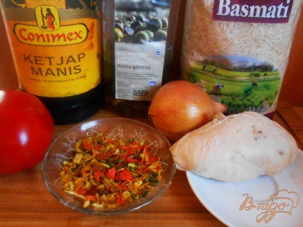 Рецепт Индийский плов с курицей по- быстрому