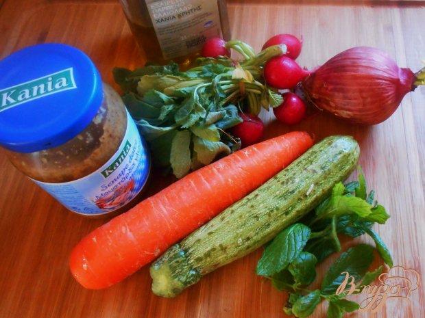 Рецепт Индийский овощной салат