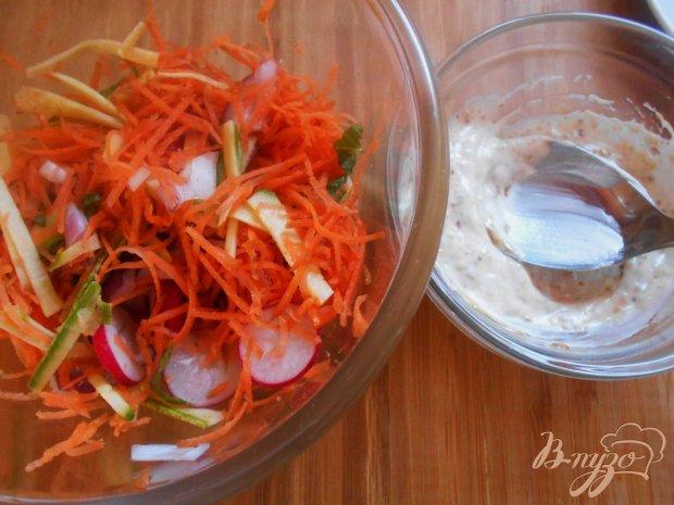 Индийский овощной салат