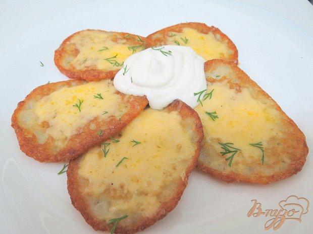 Драники с сыром и белком
