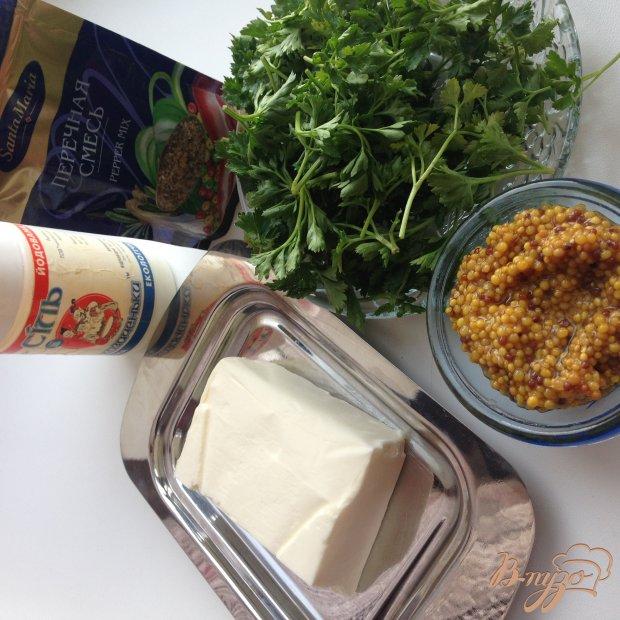 Рецепт Котлеты из свинины с горчичным маслом