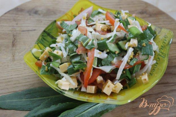 Салат для пикника на скорую руку
