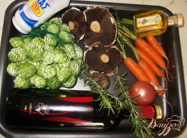 Рецепт Гарнир из зимних овощей