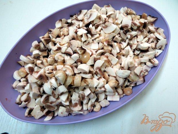 Рецепт Рисовый рулет с грибами