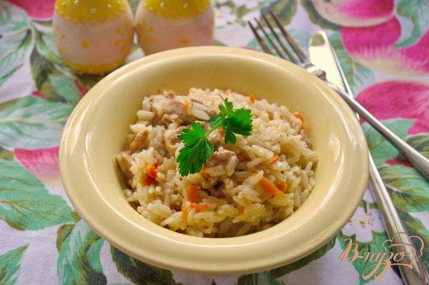 Рис с курицей за 30 минут