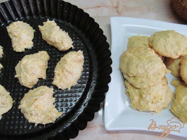 Пышное печенье из жмыха апельсина