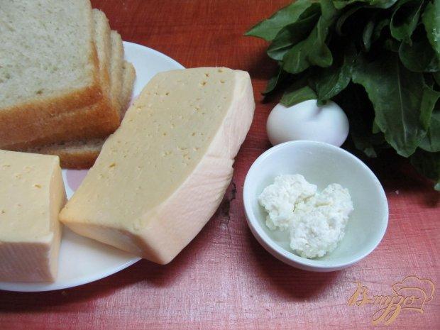 Рецепт Сырный сэндвич