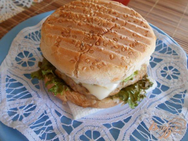 Чикенбургер с ананасом