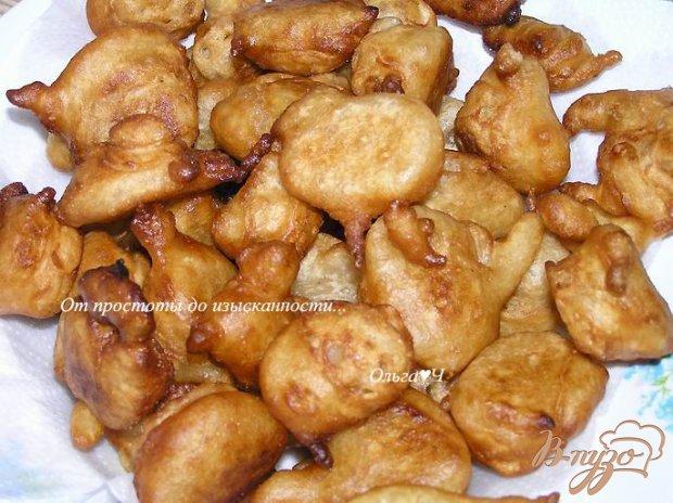 Яблочные пончики с корицей