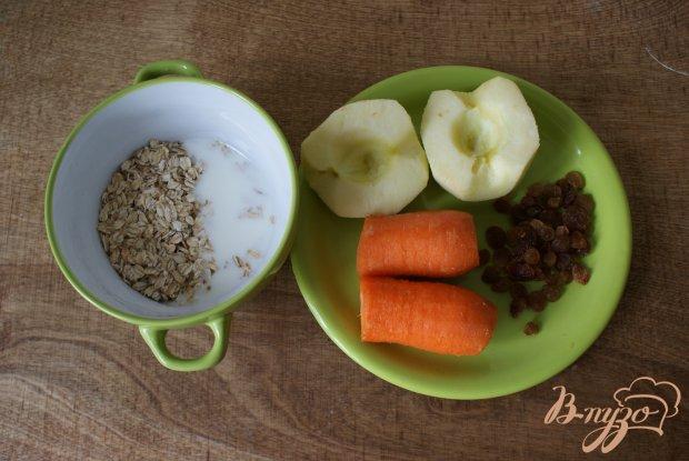 Рецепт Морковно-яблочные оладьи с изюмом