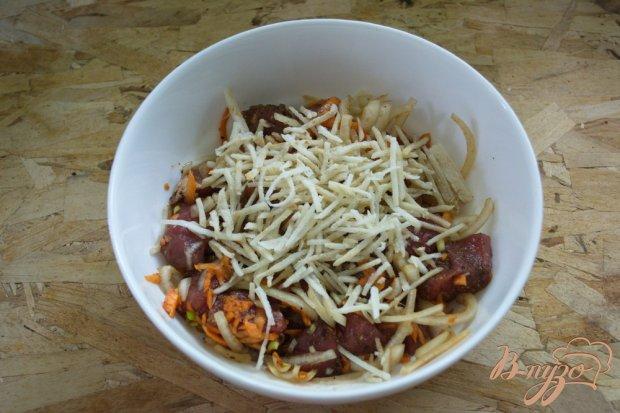 Мясо, маринованное в соевом соусе