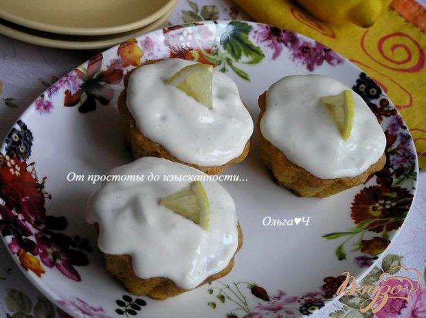 Тыквенные маффины с лимонным кремом от Джейми Оливера