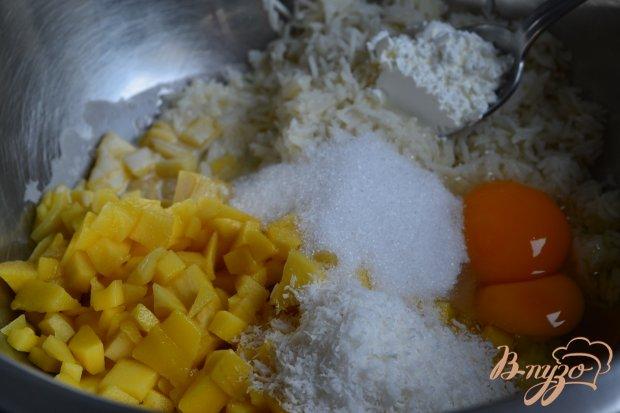 Рисовая запеканка с манго