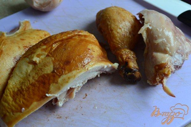 Рецепт Запеканка из макарон с копченой курицей