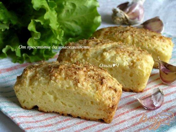 Сырные булочки с чесночной корочкой