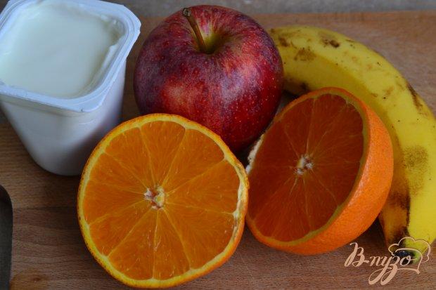 Рецепт Смузи с бананом и яблоком