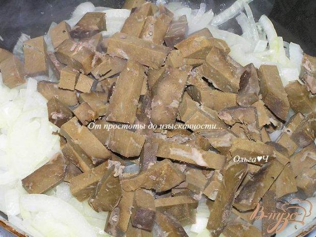 Говяжья печень с луком
