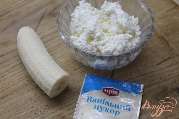 Блинчики с творогом и бананом Инь - Янь