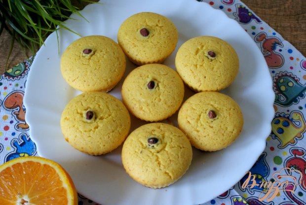 Апельсиновые маффины с фундуком