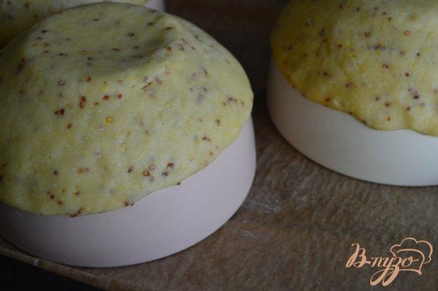Песочное тесто с зернистой горчицей