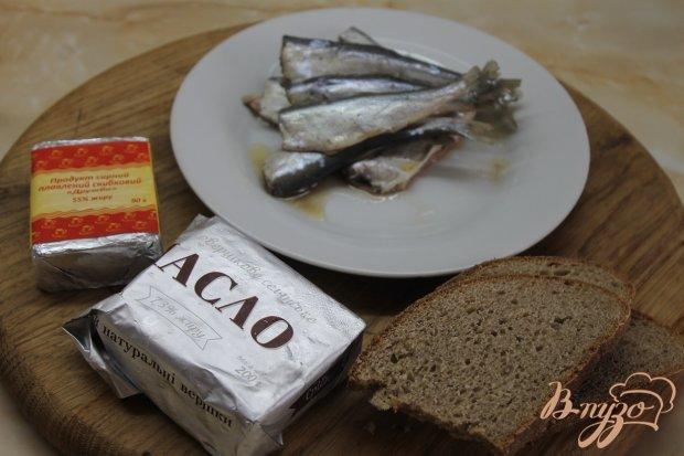 Рецепт Паштет из маринованной салаки с плавленым сыром