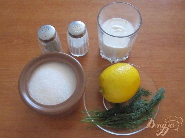 Заправка для салатов с лимоном
