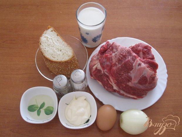 Рецепт Говяжьи котлеты в духовке