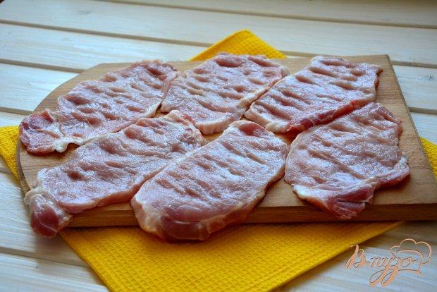 Рецепт Крученики из свинины с начинкой