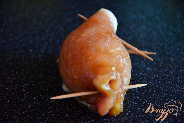Крученики из свинины с начинкой