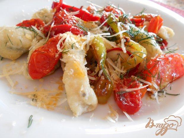 Картофельные ньокки с сыром и зеленью
