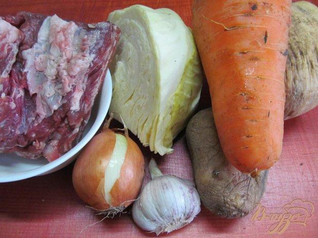 Свиные ребра с овощами в мультиварке