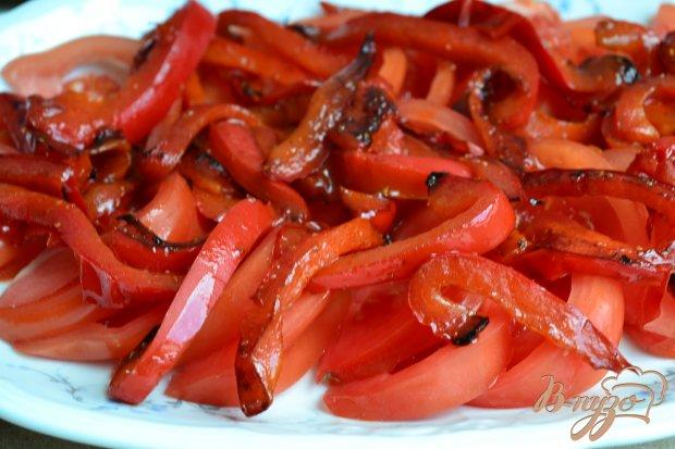 Овощной салат с яичной заправкой