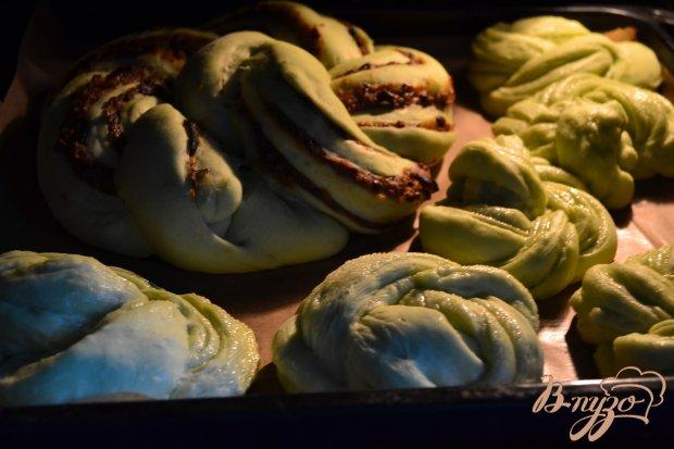 Сдобные пироги из мятного теста