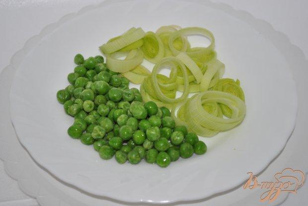 Форель с хамоном с овощным гарниром